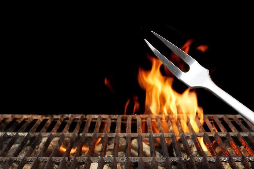 La Duna barbecue pit