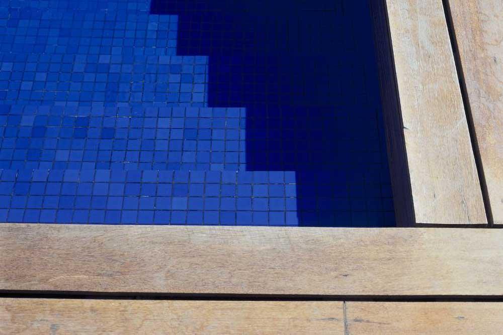 Swimming pool decking