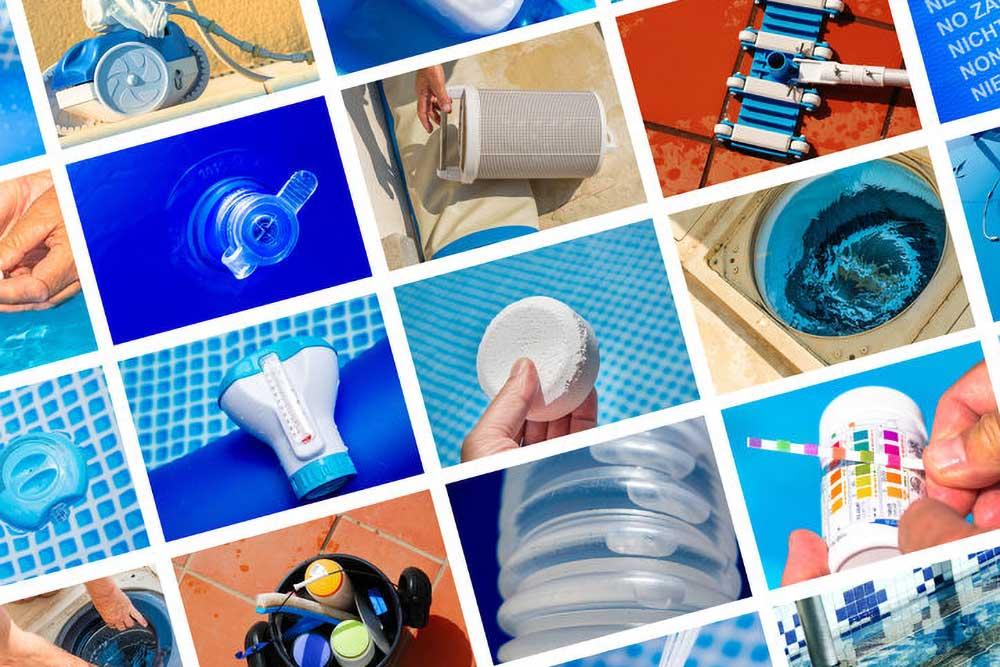 Swimming pool water treatrment